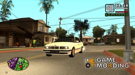 BMW 5 Series e32 (525i) for GTA San Andreas