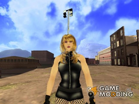 DC Comics Black Canary для GTA San Andreas