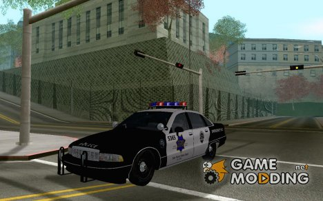 1992 Chevrolet Caprice SFPD for GTA San Andreas