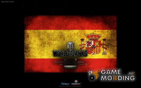 Загрузочный экран - Флаги наций (13) для World of Tanks