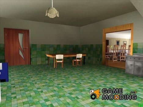 Интерьер дома CJ 2015 for GTA San Andreas