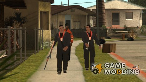 PAStent Gang:2nd mobster для GTA San Andreas