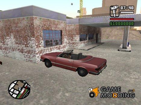 Анимация при авариях для GTA San Andreas