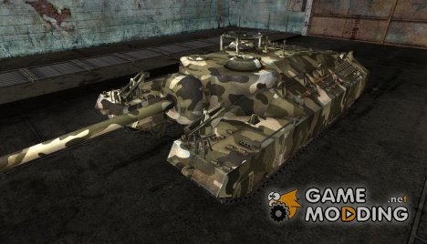 Шкурка для T95 №7 для World of Tanks