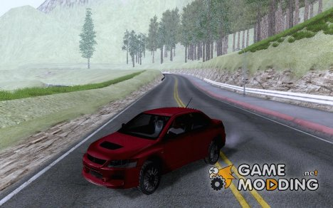 Mitsubishi Lancer Evo IX MR Evolution для GTA San Andreas