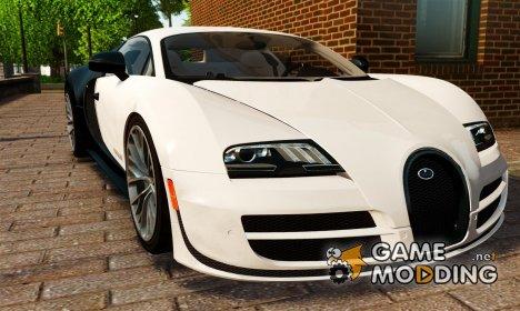 Bugatti Veyron 16.4 Super Sport 2011 PUR BLANC [EPM] for GTA 4