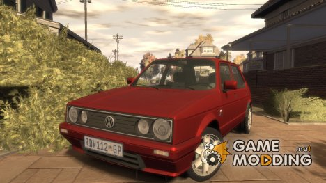 Volkswagen Citi Golf Velociti 2008 для GTA 4