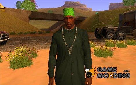 Бандана maryshuana green for GTA San Andreas