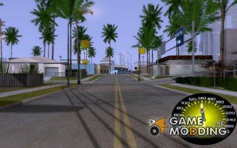 Мото Спидометр for GTA San Andreas