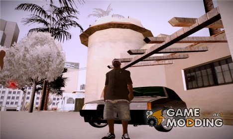 Новый ballas1 для GTA San Andreas