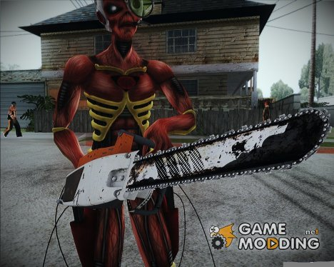 Chainsaw from Left4 Dead 2 для GTA San Andreas