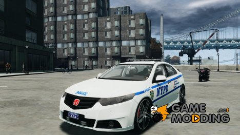 Honda Accord Type R NYPD (City Patrol 1090) for GTA 4