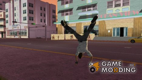Паркур (Parkour mod) V4.1 for GTA Vice City