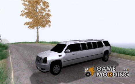 Cadillac Escalade 2008 Limo для GTA San Andreas