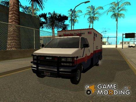 MRSA Ambulance из GTA V for GTA San Andreas