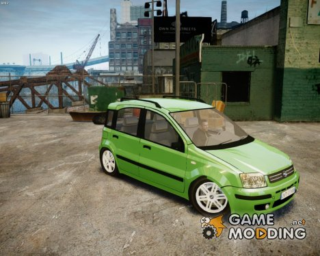 2004 Fiat Panda для GTA 4