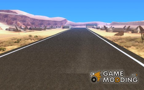 New Verdant Meadows Airstrip для GTA San Andreas