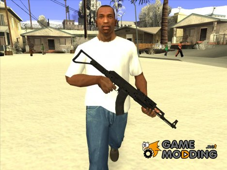 Чёрный AK47 для GTA San Andreas