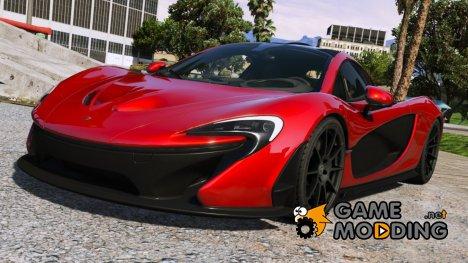 2014 McLaren P1 v2.6 для GTA 5