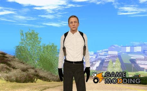 007 Daniel Craig Skyfall for GTA San Andreas