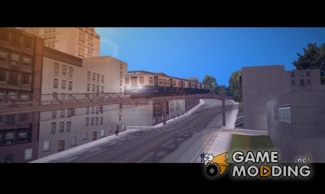 Поезд из Мафии for GTA 3