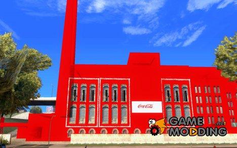 Завод Coca-Cola for GTA San Andreas