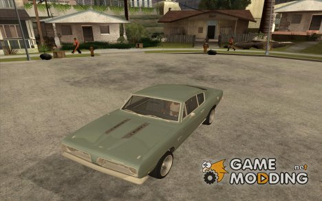 Plymouth Barracuda 1968 для GTA San Andreas