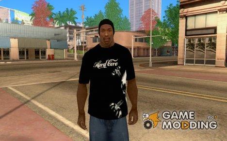 Футболка «Hardcore» для GTA San Andreas
