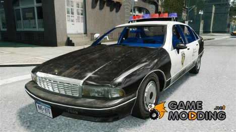 Chevrolet Caprice Police 1991 v.2.0 for GTA 4