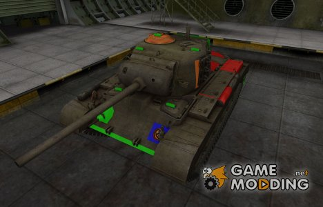 Качественный скин для M26 Pershing for World of Tanks
