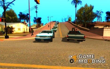 Трафик для GTA San Andreas for GTA San Andreas