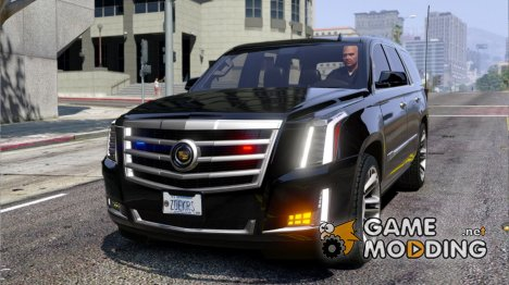 Cadillac Escalade FBI Petrol Vehicle 2015 FINAL для GTA 5