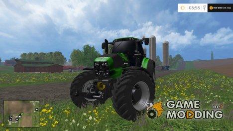 Deutz Fahr 7250 NOS Hardcore v2.0 for Farming Simulator 2015