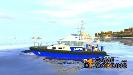 Полицейское судно для GTA 4