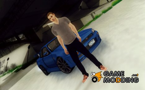 Paul Walker Beta for GTA San Andreas