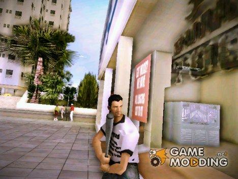 Бейсбольная бита из GTA IV для GTA Vice City