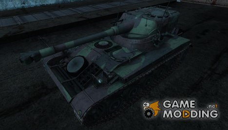 Шкурка для AMX 13 75 №21 for World of Tanks