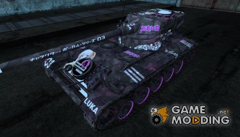 Шкурка для AMX 13 90 №13 для World of Tanks