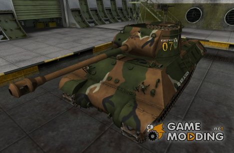 Шкурка для M36 Slugger для World of Tanks