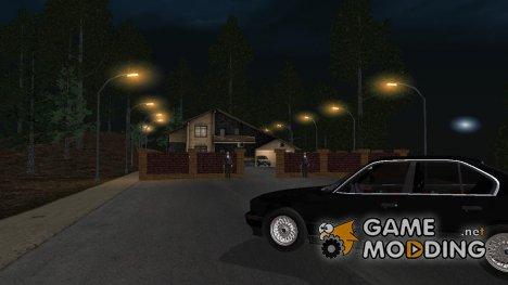 Коттедж на горе for GTA San Andreas