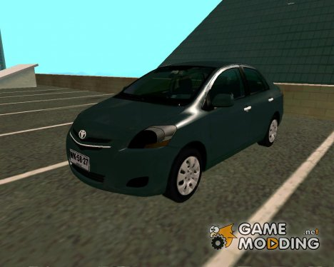 Toyota Yaris 2008 Sedan для GTA San Andreas