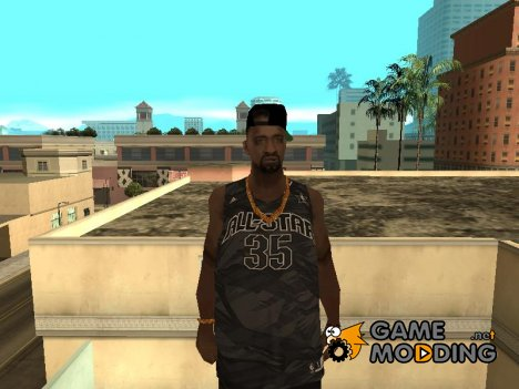 New bro in black clotch for GTA San Andreas