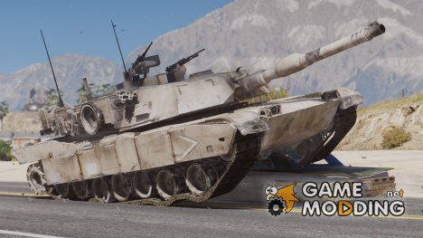 "M1A1 Abrams ""Operation Desert Storm"" for GTA 5"
