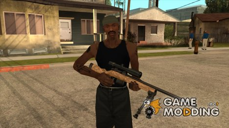 Пак русского оружия by Gangzta для GTA San Andreas