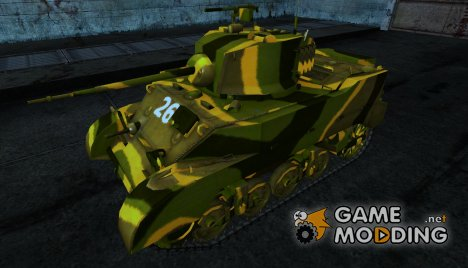 M5 Stuart rypraht для World of Tanks