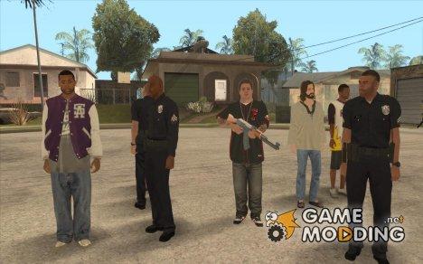Скины GTA 5 для GTA San Andreas