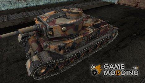 Шкурка для PzKpfw VI Tiger P for World of Tanks