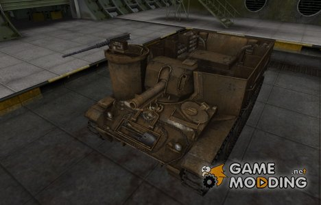 Скин в стиле C&C GDI для M37 для World of Tanks