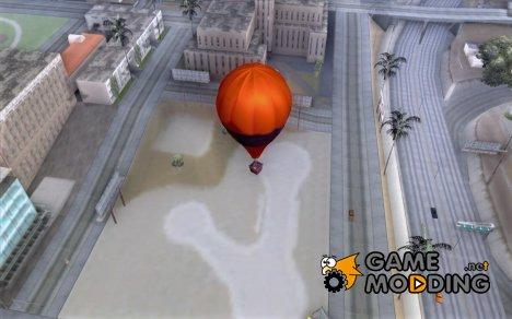 Воздушный шар в стиле хиппи for GTA San Andreas