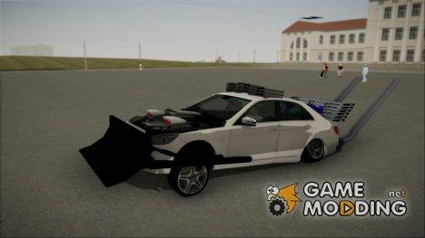 Mercedes-Benz E63 AMG Bulldozer Version для GTA San Andreas